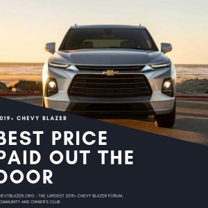 Chevy Blazer Best Price Promo
